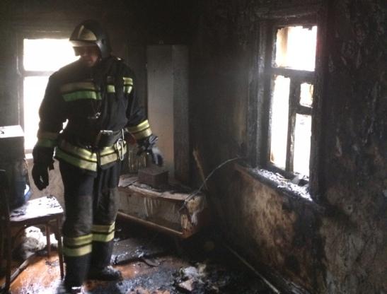 Пожар в Грибановском районе — МЧС России по Воронежской области