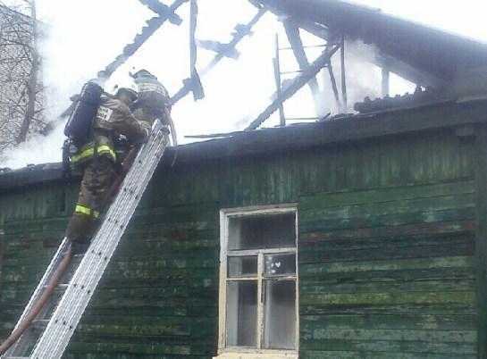 Пожар в Верхнемамонском районе