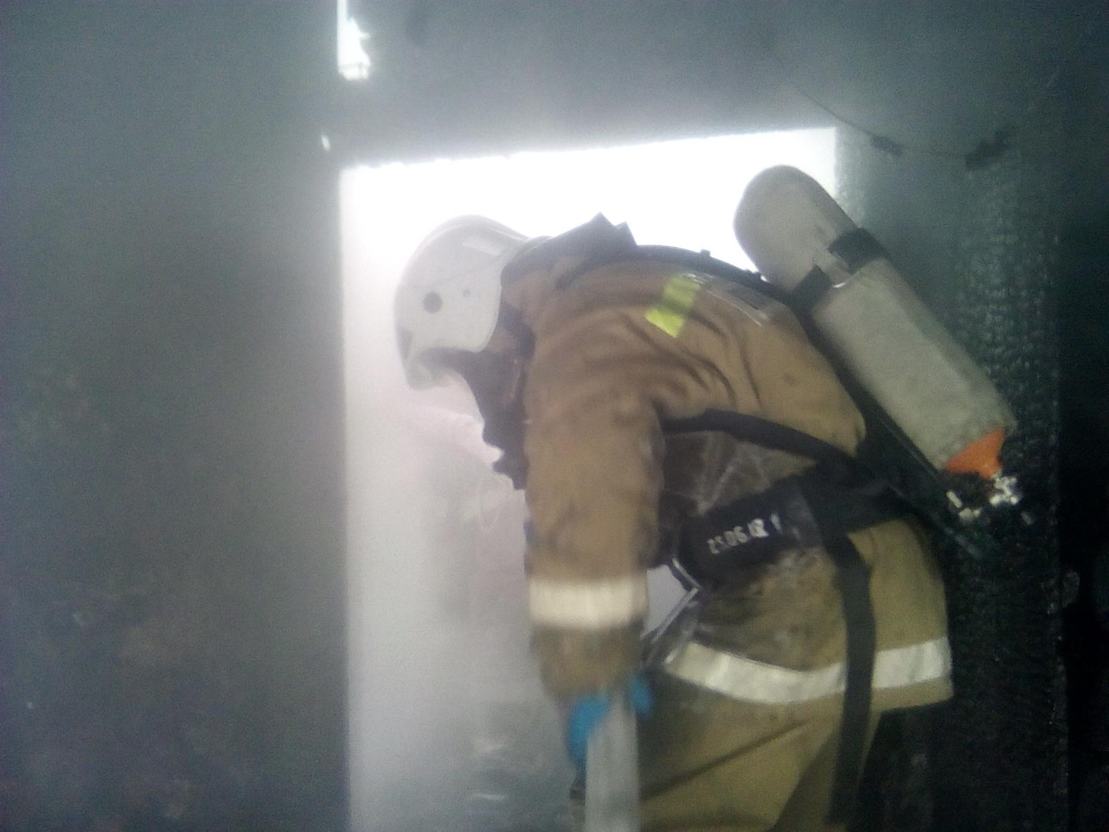 Пожар в Поворинском районе — МЧС России по Воронежской области