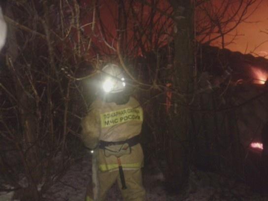 Пожар в Павловском районе — МЧС России по Воронежской области