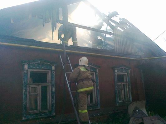 Пожар в Аннинском районе — МЧС России по Воронежской области