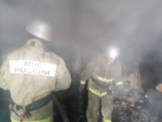 Пожар в Новоусманском районе — МЧС России по Воронежской области