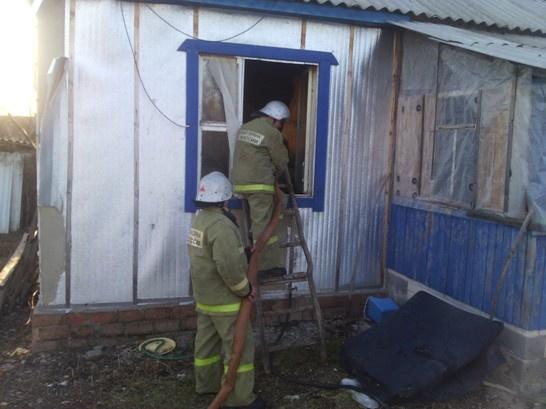 Пожар в Каширском районе — МЧС России по Воронежской области