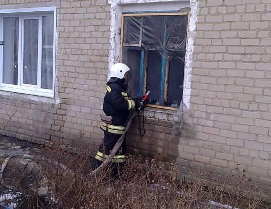 Пожар в Калачеевском районе — МЧС России по Воронежской области