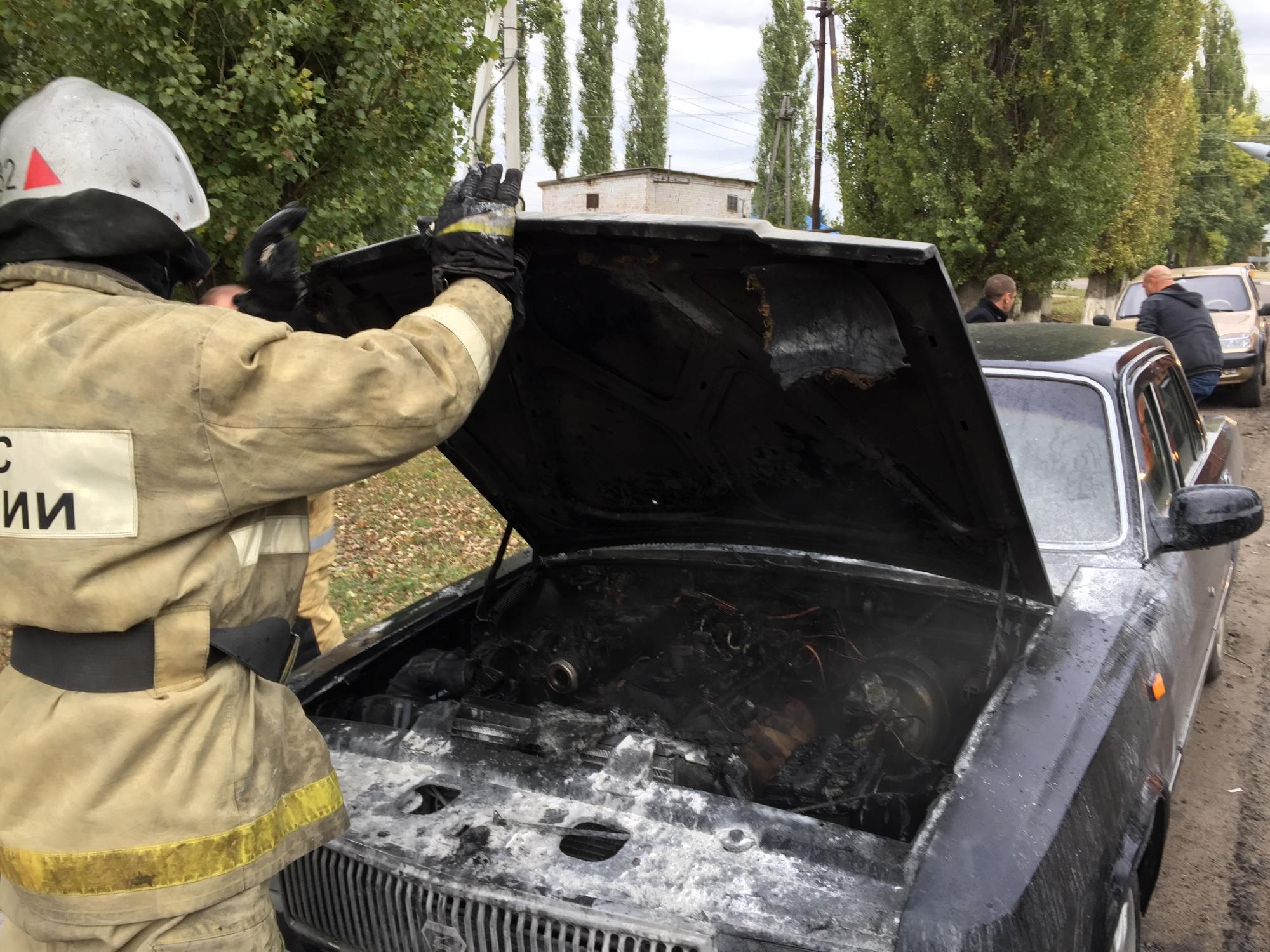 Пожар в Бобровском районе — МЧС России по Воронежской области