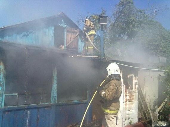 Пожар в г.о.г. Нововоронеж — МЧС России по Воронежской области