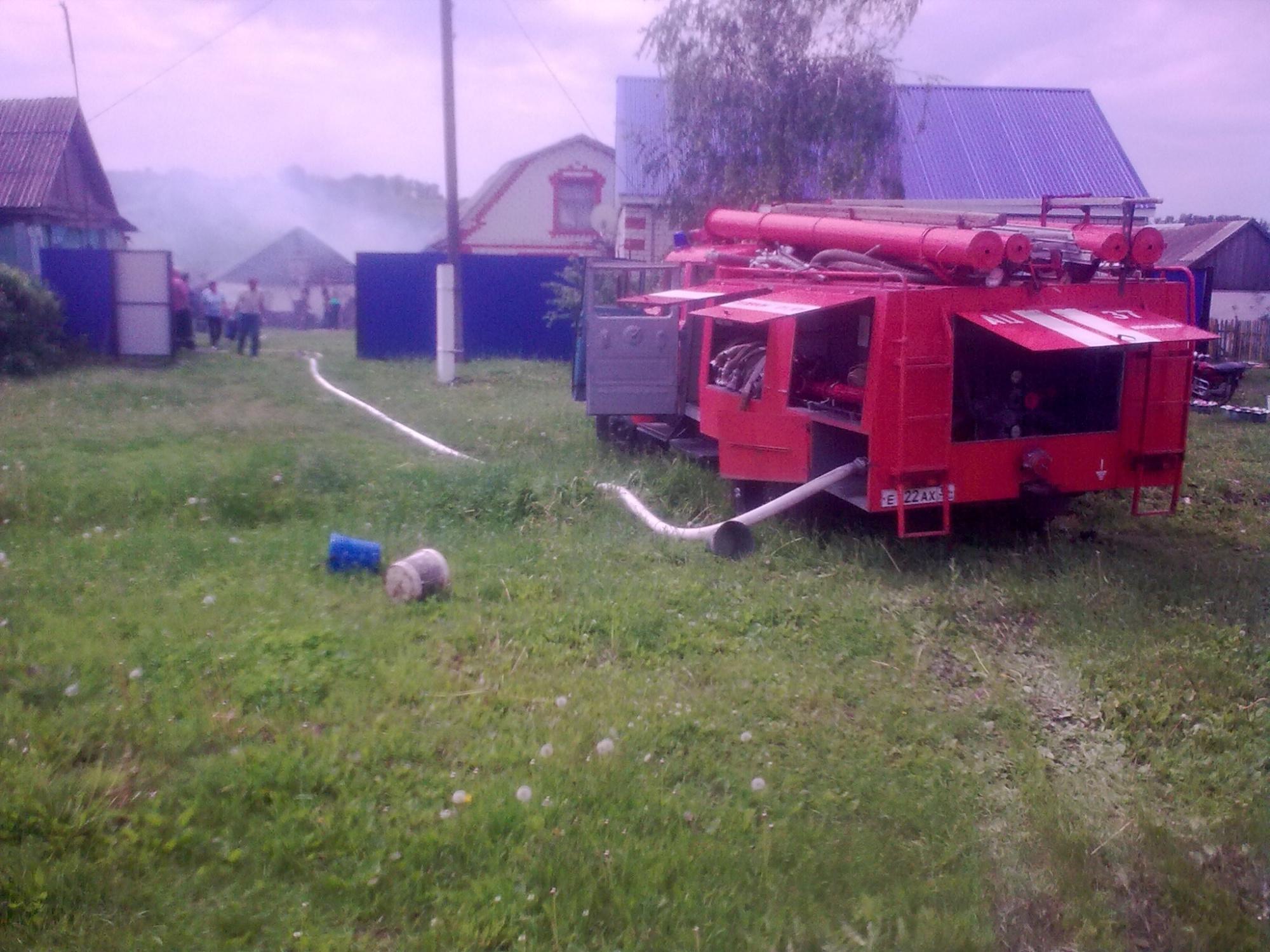 Пожар в Эртильском районе — МЧС России по Воронежской области